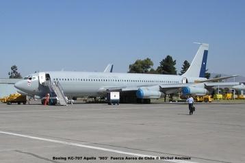 106 Boeing KC-707 Aguila '903' Fuerza Aerea de Chile © Michel Anciaux
