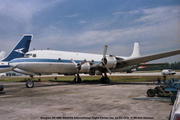 09 Douglas DC-6BF N840TA International Flight Center Inc. ex CC-CFH