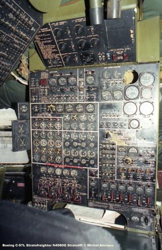 253 Boeing C-97L Stratofreighter N4580Q Stratolift © Michel Anciaux