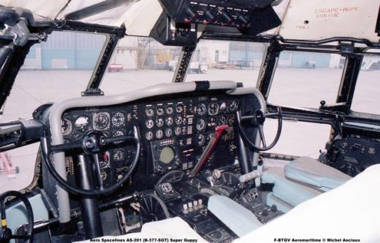 267 Aero Spacelines AS-201 (B-377-SGT) Super Guppy F-BTGV Aeromaritime © Michel Anciaux