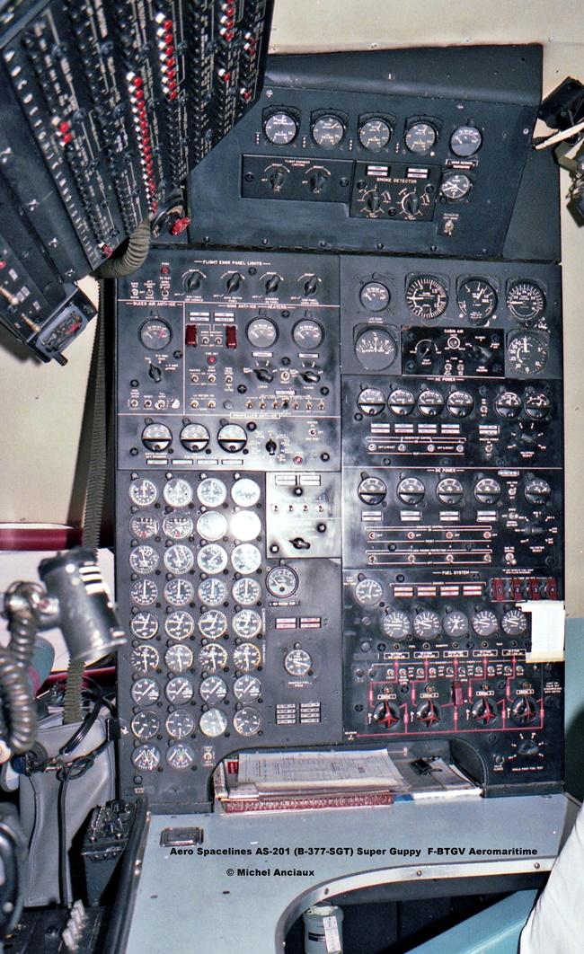 269 Aero Spacelines AS-201 (B-377-SGT) Super Guppy F-BTGV Aeromaritime © Michel Anciaux