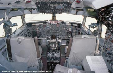 320 Boeing 707-351C OO-ABA Abelag Airways © Michel Anciaux