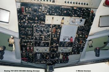 321 Boeing 707-351C OO-ABA Abelag Airways © Michel Anciaux