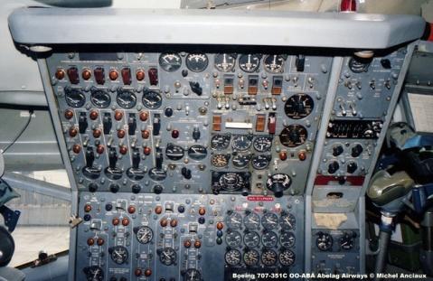 322 Boeing 707-351C OO-ABA Abelag Airways © Michel Anciaux