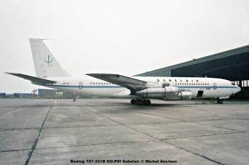 330 Boeing 707-321B OO-PSI Sobelair © Michel Anciaux