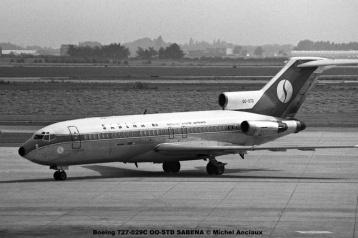 366 Boeing 727-029C OO-STD SABENA © Michel Anciaux