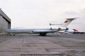 370 Boeing 727-029C CB-02 Belgian Air Force © Michel Anciaux