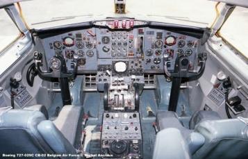 373 Boeing 727-029C CB-02 Belgian Air Force © Michel Anciaux