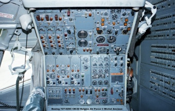 375 Boeing 727-029C CB-02 Belgian Air Force © Michel Anciaux