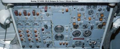 377 Boeing 727-029C CB-02 Belgian Air Force © Michel Anciaux