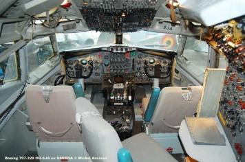 420 Boeing 707-329 OO-SJA ex SABENA © Michel Anciaux