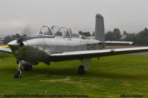DSC_0163 Beech A-45 Mentor CC-KST