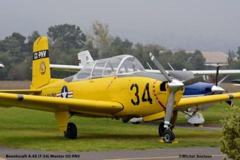 DSC_0255 Beech A-45 Mentor CC-PNV
