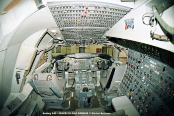 img148 Boeing 747-129SCD OO-SGA SABENA © Michel Anciaux