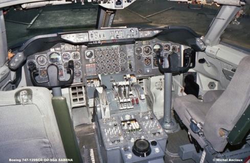 img151 Boeing 747-129SCD OO-SGA SABENA © Michel Anciaux