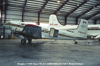 img243 Douglas C-117D (Super DC-3) C-GGKG Millardair Ltd © Michel Anciaux