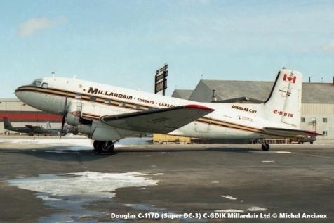 img247 Douglas C-117D (Super DC-3) C-GDIK Millardair Ltd © Michel Anciaux