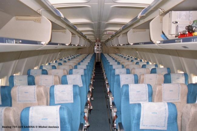 img504 Boeing 737-329 SABENA © Michel Anciaux