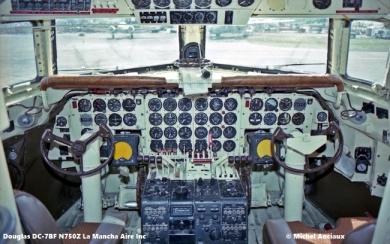 img557 Douglas DC-7BF N750Z La Mancha Aire Inc. © Michel Anciaux