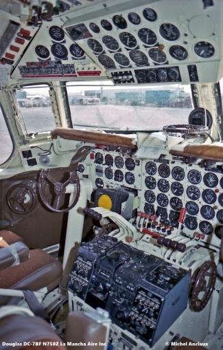 img561 Douglas DC-7BF N750Z La Mancha Aire Inc. © Michel Anciaux