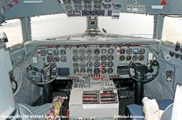 img574 Douglas DC-7BF N381AA Turks Air Inc © Michel Anciaux