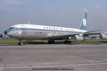 img591 Boeing 707-329 OO-SJA SABENA © Michel Anciaux