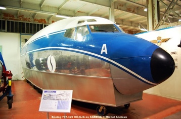 Photo 119 Boeing 707-329 OO-SJA ex SABENA © Michel Anciaux