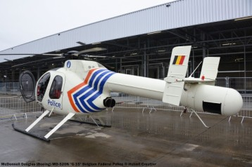 02 McDonnell Douglas (Boeing) MD-520N ''G-15'' Belgium Federal Police