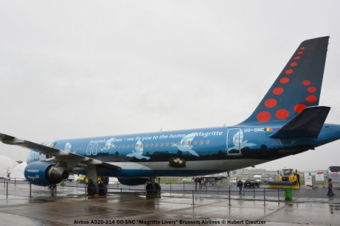 06 Airbus A320-214 OO-SNC ''Magritte Livery'' Brussels Airlines
