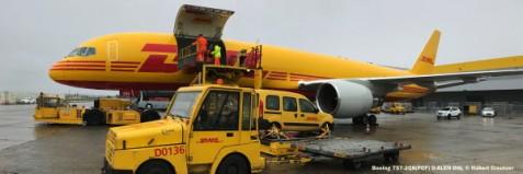10 Boeing 757-2Q8(PCF) D-ALEN DHL