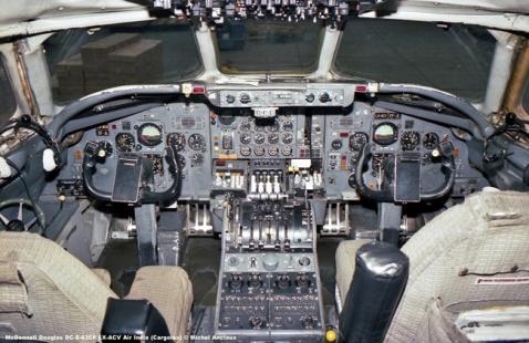 131 McDonnell Douglas DC-8-63CF LX-ACV Air India (Cargolux) © Michel Anciaux