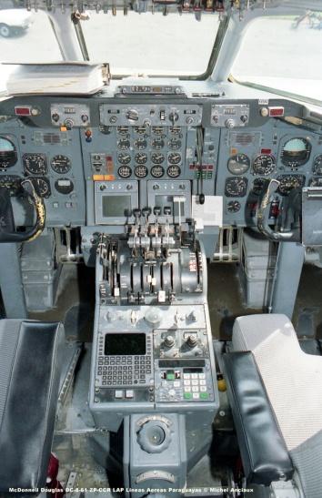 151 McDonnell Douglas DC-8-61 ZP-CCR LAP Lineas Aereas Paraguayas © Michel Anciaux
