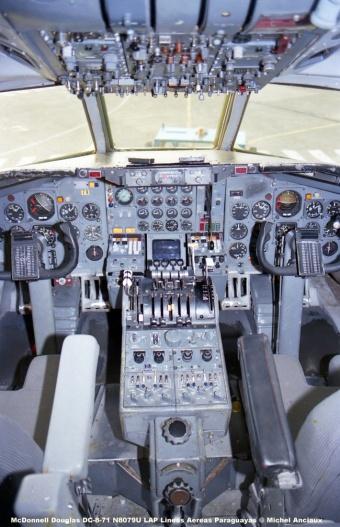 157 McDonnell Douglas DC-8-71 N8079U LAP Lineas Aereas Paraguayas © Michel Anciaux