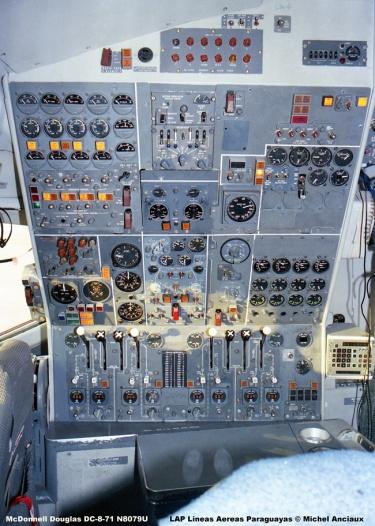 159 McDonnell Douglas DC-8-71 N8079U LAP Lineas Aereas Paraguayas © Michel Anciaux