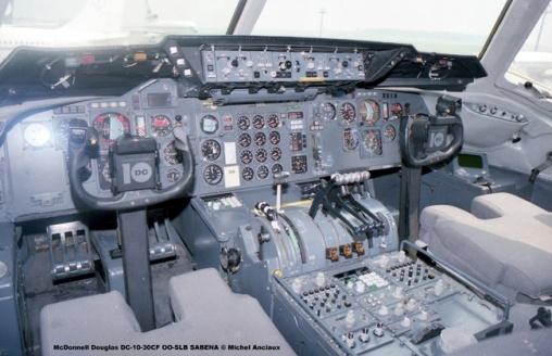 182 McDonnell Douglas DC-10-30CF OO-SLB SABENA © Michel Anciaux