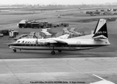 19 Fairchild FH-227 Frienship N376NE Delta