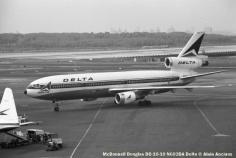 22 McDonnell Douglas DC-10-10 N602DA Delta