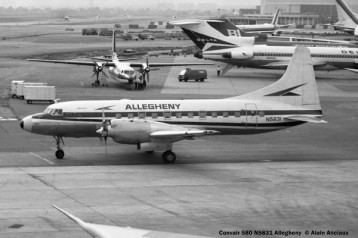 26 Convair 580 N5831 Allegheny