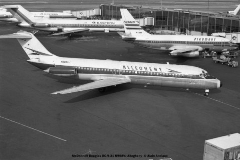 28 McDonnell Douglas DC-9-31 N968VJ Allegheny