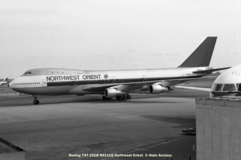 33 Boeing 747-251B N611US Northwest