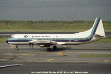 37 Lockheed L-188A Electra N5512 Eastern