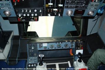 425 Boom Operator position on McDonnell Douglas KC-10A ''83-0080'' USAF © Michel Anciaux