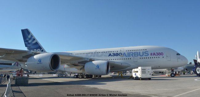 Airbus Airbus A380-861 F-WWDD Airbus