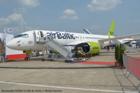 DSC_0448 Bombardier CS300 YL-CSE Air Baltic