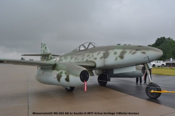 DSC_0676 Messerschmitt ME-262 AB-1c Swalbe D-IMTT Airbus Heritage