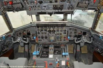 DSC_0705 Cockpit of Transal C-160D 50+67 German Air Force