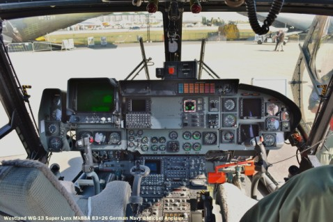 DSC_1121 Cockpit of Westland WG-13 Super Lynx Mk88A 83+26 German Navy
