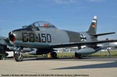 DSC_1133 Republic F-86 Sabre BB+150 (Canadair CL-13A Sabre Mk 5) German Air Force