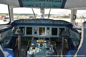 DSC_1232 Cockpit of Antonov 178 UR-EXP Antonov Design Bureau