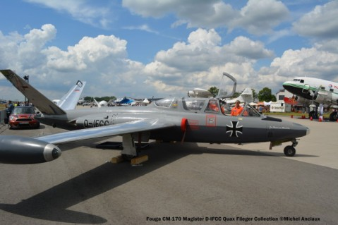 DSC_1372 Fouga CM-170 Magister D-IFCC Quax Flieger Collection